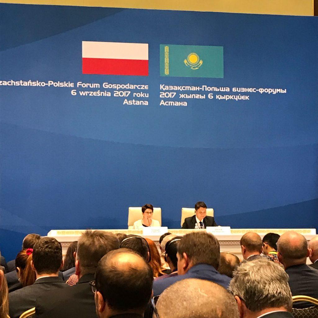 Kazachstańsko-Polskie Forum Gospodarcze w Astana