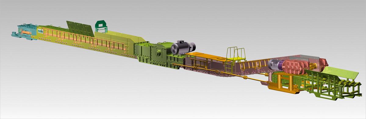 Zmechanizowany zespół podścianowy AZIS-1200