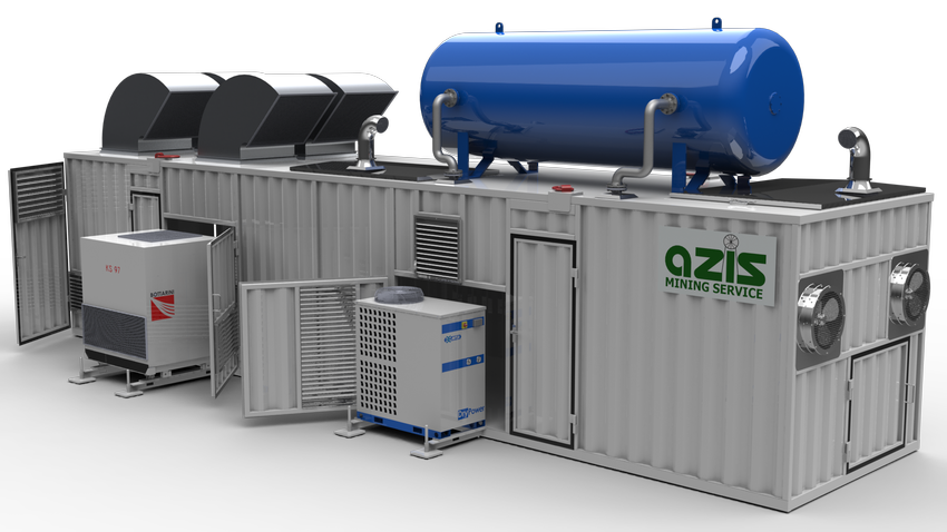 Stickstofferzeuger für container WA-700